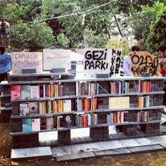 #occupygezi Gezi Parkı Library