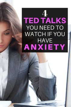 Must Watch TED Talks About Anxiety. Watch these if you are looking for relief from symptoms of anxiety. Radical Transformation Project