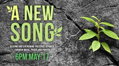 """Join the Frazer choir, praise band, and orchestra for a night of worship, praise and prayer. More than a Spring concert, """"A New Song"""" is a time for us to earnestly seek the renewing presence and power of God's Holy Spirit together. - See more at: http://frazerumc.org/events/detail/a_new_song"""