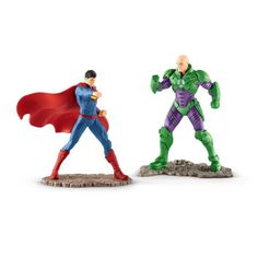 Schleich Justice League Superman VS Lex Luthor 22541 for sale online Lex Luthor, Dc Heroes, Comic Book Heroes, Dc Universe, Figurine Star Wars, Intelligent People, Dc Comics Superheroes, Batman And Superman, Man Of Steel