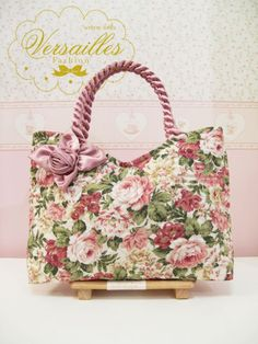 free purse patterns to sew made of cloth   -pattern Handbag 100% Handmade Photo, Detailed about Flower-pattern ...