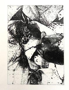Fotoätzung, Im Blätterwald, Radierung Original von KunstKaufRauschArtig auf DaWanda.com