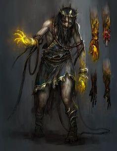 god of war - king midas by tobiee on DeviantArt Sylar Heroes, Dark Fantasy, Fantasy Art, King Midas, Heroes Reborn, Arte Robot, Grimm Fairy Tales, Letting Go Of Him, Satyr
