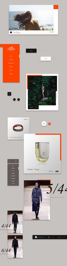 Thomas Le Corre – Hermès Web Concept