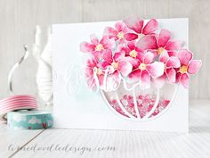 Gorgeous Easter Shaker Basket by Debby Hughes using Simon Says Stamp Exclusives.