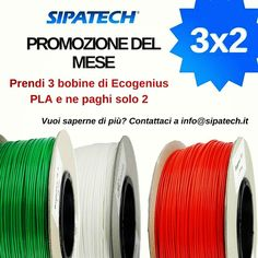 Something we liked from Instagram! Promozione del mese!!! Prendi 3 bobine di Ecogenius PLA e ne paghi solo 2!!! Contattaci a Info@sipatech.it  #art #colorful #awesome #sculpture #illustration #design #filament  #vscocool #fdm #treedfilaments #3dprint  #cool #vscoart #gimax3d #skull #painting #instacool #artistsoninstagram  #instagood #expo2015 #3dprinter #milan #vscocam  #3dprinting #picoftheday #3d #makers #nantes #fablab by sipatech.it check us out: http://bit.ly/1KyLetq