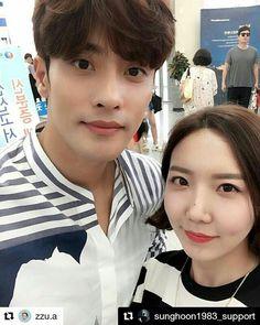 25 個讚,1 則留言 - Instagram 上的 Debbie Moh(@debbie_moh):「 #Repost @sunghoon1983_support ・・・ #SUNGHOON today with cute fans for #Fanmeeting SUNG HOON #BUSAN… 」