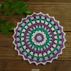20pcs Crochet retro flower handmade doilies crochet by ColoredHome