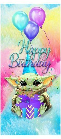 Yoda Happy Birthday, Funny Happy Birthday Messages, Happy Birthday Greetings Friends, Happy Birthday Pictures, Birthday Wishes Quotes, Happy Birthday Cards, Disney Happy Birthday Images, Yoda Images, Yoda Pictures