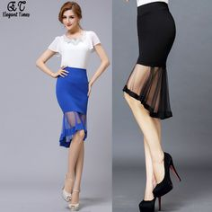 Find More Skirts Information about 2015 Summer New Arrivals Mesh Patchwork Women Bodycon Mermaid Skirt Short In Front Long In Back 5478JY,High Quality arrival service,China skirt fashion Suppliers, Cheap arrival activities from Elegant Times on Aliexpress.com