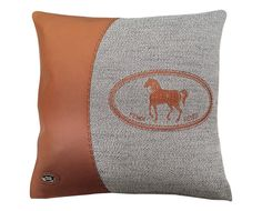 Подушка, текстиль, кожа, Fendi Casa.