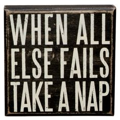 Naps solve everything