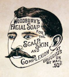 PERSONAL CARE: Vintage Advertisement - Woodbury Facial Soap - Will it remove all the graffiti on his face?
