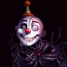 Ennard from Sister Location. Not my art, absolutely love the style though.