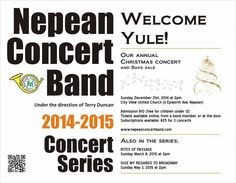 Things To Do with the Kids in Ottawa and at Home: Nepan Concert Band- Christmas Concert
