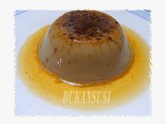 Recetas Dukan - Dukansusi: Flan de Café. ( Fase Ataque)