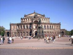 Teatro de Opera Semper de Dresden - Buscar con Google