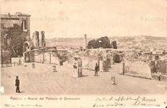 Palatino.Palazzo di Domiziano 1911