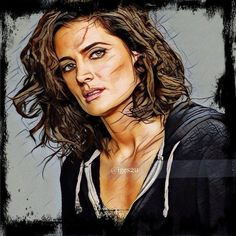 Stana Katic as Emily Byrne in Absentia. New edits.   #stanakatic #absentia #absentiaseries #emilybyrne #katebeckett #castle
