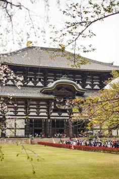 Nara Todaiji temple, Japan
