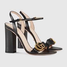 7bc4735f2 Leather sandal - Gucci Women s Sandals 453378A3N001000 Shoes Sandals