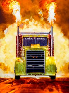 The Truck Powered by a Jet Engine