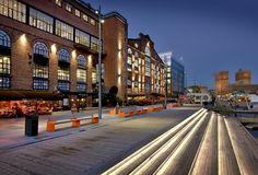 Aker Brygge, Oslo Oslo, Norway, Street View, Lighting, Beautiful, Google Search, Ideas, Lights, Lightning