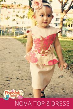 Nova Top PDF sewing pattern available at Fairytale Frocks & Lollipops.  #sewing