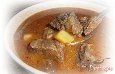 Ein echtes Gulasch mit Rindfleisch kann einfach nicht schlecht schmecken. Es ist einfach lecker!Mhhhh...