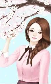 Enakei y manga illustration, anime korea, korean anime, lovely girl image, girls Girl Cartoon Characters, Cartoon Girl Images, Cute Cartoon Pictures, Cute Cartoon Girl, Girly Pictures, Anime Girl Cute, Anime Art Girl, Beautiful Girl Drawing, Cute Girl Drawing