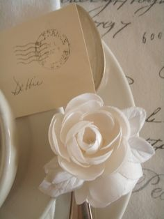 Postmarked Place Card | A Place at theTable