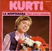 """Die erste Schallplatte von Kurti Elsasser aus dem Jahr 1980 und sein erster Hit """"La Montanara"""""""