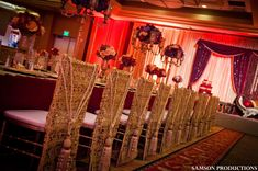 Pakistani Wedding Reception Fit For Royalty by Samson Productions, Newport Beach, California Wedding Lenghas, Pakistani Wedding Decor, Indian Wedding Receptions, Indian Wedding Ceremony, Indian Wedding Planning, Indian Wedding Decorations, Reception Decorations, Event Decor, Desi Wedding