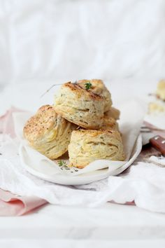 Savoury Scones of Feta, Chive & Rosemary   Natalie Eng   Pâtisserie & Food Photography