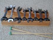 Musical Instruments for Playgrounds and Children's Museums: old wrenches= Wrenchophone!
