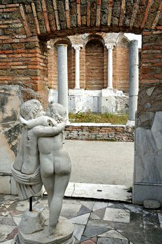 Rome, Italy- The Forum - House of Cupid and Psyche Ancient Buildings, Ancient Architecture, Ancient Ruins, Ancient Rome, Classical Mythology, Roman History, Roman Empire, Cupid, Italy Travel