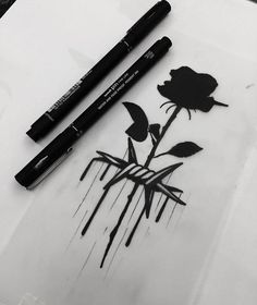 Mini Tattoos, Flower Tattoos, Black Tattoos, Body Art Tattoos, Small Tattoos, Cool Tattoos, Tatoos, Dark Art Drawings, Pencil Art Drawings