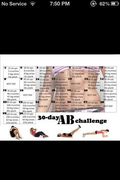 Want A Flat Stomach In One Month? I may have to ...   Workout Motivat…