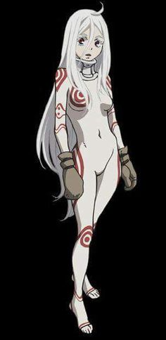 ACE MAN IS HERE! xD Shiro was absolutely one of my all time favorites from Deadman Wonderland. I'm so putting her as a definite on my cosplay list. Manga Art, Manga Anime, Anime Art, Anime Play, Manga Characters, Female Characters, Shiro Cosplay, Mirai Nikki, Dead Man