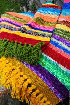 """Купить Коврик """"Солнечный зайчик"""" - коврик, коврик вязаный, коврики, коврик для детской, коврик крючком"""