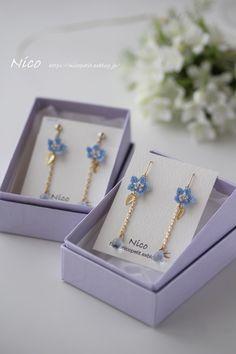 Cute Jewelry, Diy Jewelry, Beaded Jewelry, Handmade Jewelry, Jewelry Design, Polymer Clay Flowers, Polymer Clay Crafts, Knitting Accessories, Handmade Accessories