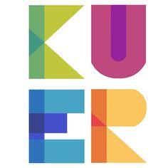 @Fellow Fellow Lordon Illustration and Design 's logo design for KUER the NPR station in Salt Lake City, Utah