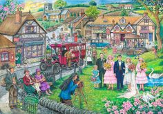 The House Of Puzzles - 1000 PIECE JIGSAW PUZZLE - Twenties Green FOR SALE • £11.99 • See Photos! Money Back Guarantee. ~ HOUSE OF PUZZLES ~ 1000 Piece Deluxe Jigsaw Puzzle Twenties Green - The Castleford Collection Twenties Green - This time our village is set in the early 1920's. Keep 172349032653