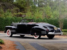 1941 Cadillac Sixty Two Convertible Coupe