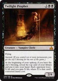 MTG  Tempest Rare Card   1 x APOCALYPSE     Never played