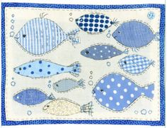 Sharon Blackman Source by gillneedham Freehand Machine Embroidery, Free Motion Embroidery, Embroidery Applique, Small Quilts, Mini Quilts, Baby Quilts, Fabric Cards, Fabric Postcards, Sewing Appliques