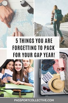 5 ESSENTIAL items you are forgetting to pack for your gap year! Don't leave home without these essential travel items! Be prepared for your gap year and pack smart. Learn from our mistakes and have the best gap year ever! Weekend Breaks Europe, Weekend Packing, Packing List For Travel, Packing Tips, Airline Travel, Overseas Travel, Travel Usa, Travel Europe, Travel Destinations