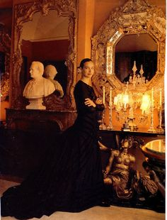 Carole Bouquet in CHANEL'S Apartment