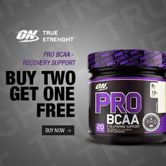 #PRO #BCAA- Recovery Support Buy 2 Get 1 Free .http://bbcom.me/18ZOJpg . Shop International! Shop from the USA through #iShopinternational.com .