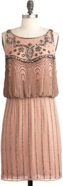 Modcloth A Friend in Beads 1920s Inspired Dress. This is PERFECT. i am so glad the 20's style is coming back! <3 :)